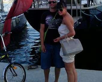 Део и Елена на романтична почивка в Гърция