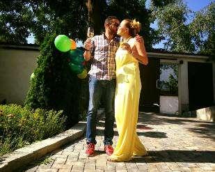 Ирина Тенчева отпразнува РД с Ава