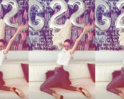 Зейн Малик изненада Джиджи Хадид с розова торта за ...