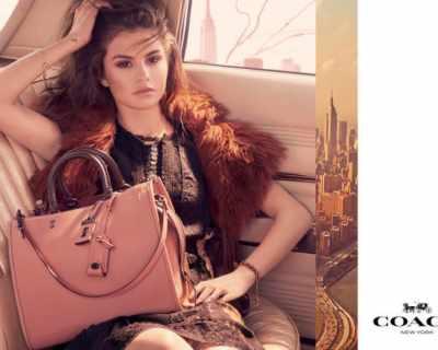 Селена Гомес впечатли с нова рекламна кампания
