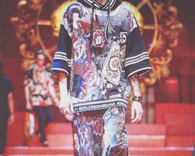 Братът на Майли Сайръс стана модел на Dolce & Gabbana
