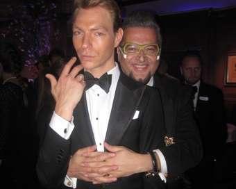 Лорд Минчев и руската звезда Оскин вилнеят в Лондон