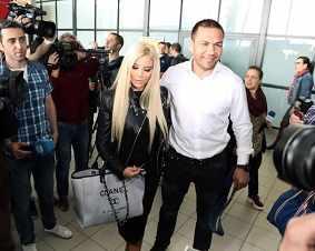 Андреа посрещна Кубрат на летище София