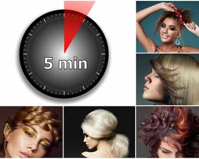 5 минути, за да прикриете прорасналите корени на косата
