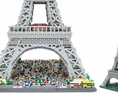 Експозиция на емблематични сгради в Париж от ...