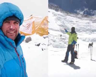 Само 6 дни след връх Лхотце, Атанас Скатов се завърна ...