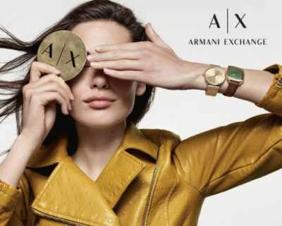 A|X Armani Exchange - добави доза лукс всеки ден