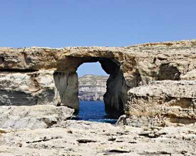 "В Малта рухна знаменитият ""Лазурен прозорец"""
