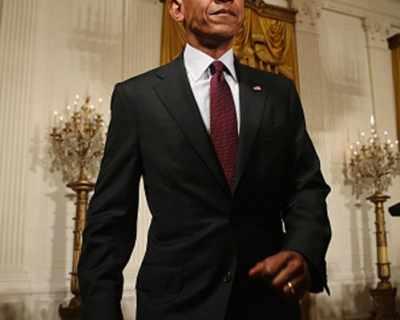 Барак Обама стана шафер на свой подчинен (СНИМКИ)