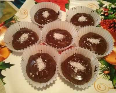 Бисквитени десертчета с шоклад