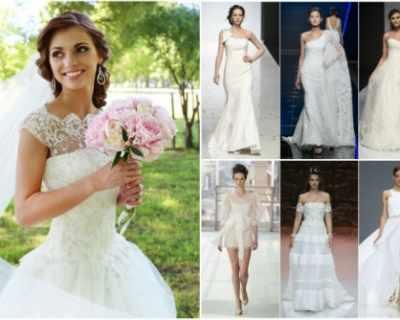 Кои са 5-те модерни булчински рокли за пролет/лято 2019?