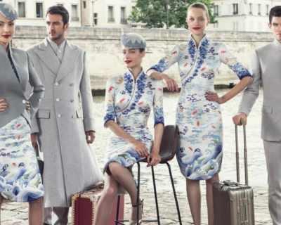 Китайска авиокомпания облече екипажа си в haute couture ...