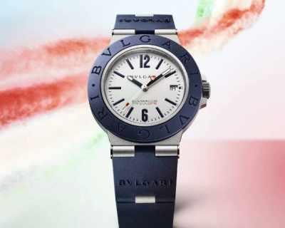 Bvlgari пуска часовници в подкрепа на Италия