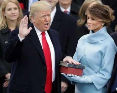 Доналд Тръмп е 45-ят американски президент (снимки)