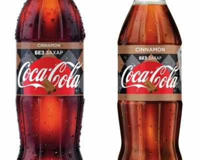 """Coca-Cola Канела без захар с отличие """"Продукт на ..."""
