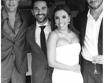 Ева Лонгория с пищна сватба в Мексико