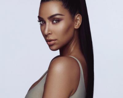 Ким Кардашиян смени цвета на кожата си за реклама
