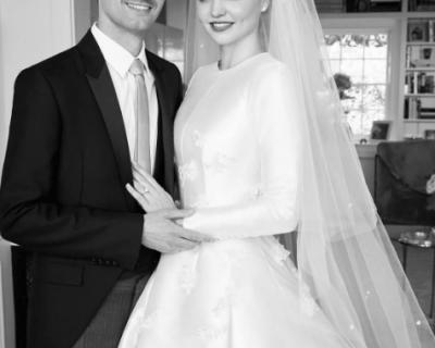 Миранда Кер най-после показа снимки от сватбата си