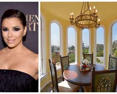 Ева Лонгория продаде вилата си на хълмовете на Холивуд