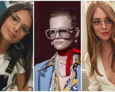 Тенденцията на сезона: огромни диоптрични очила