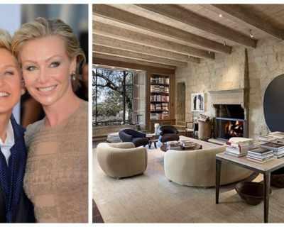 Елън Дедженеръс продава къщата си в Санта Барбара ...