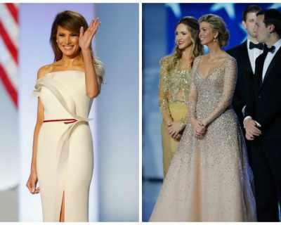 Кой е дизайнерът на бялата рокля на Мелания по време ...