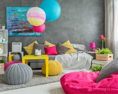 10 съвета за цветен и модерен интериор