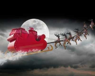 Мистерията как Дядо Коледа успява да обиколи света e ...