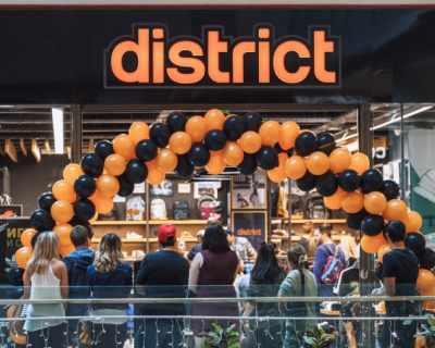 District - новият магазин за кецове, спортни и ежедневни ...