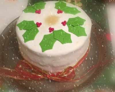 Джинджифилова коледна торта