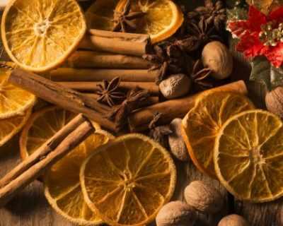 Интeресни идеи за коледна украса със сушени портокали