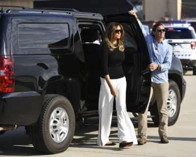 Мелания Тръмп повтори визията на Джаки Кенеди