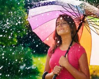 Как дъждът ви лекува?