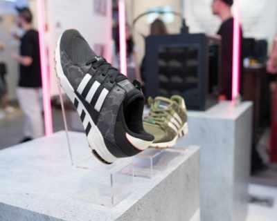 3D изживяване за новата колекция на adidas Originals