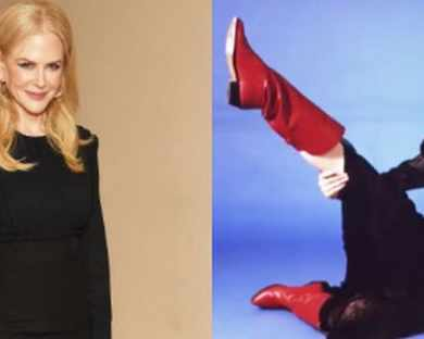 Опитай да не се смееш на модните снимки на Никол ...