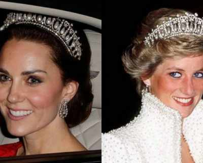 Кейт Мидълтън е отново с любимата тиара на принцеса ...