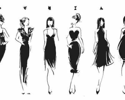 Бална рокля според фигурата