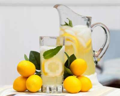 Вода с лимон поне веднъж дневно
