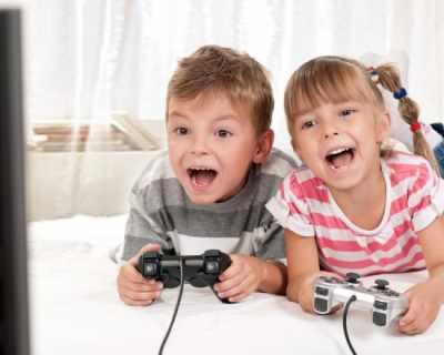 Кратките видео игри са полезни за децата