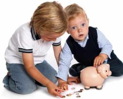 Детето и парите