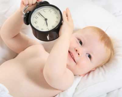 Виж биологичния часовник на твоето дете, за да организираш деня си!