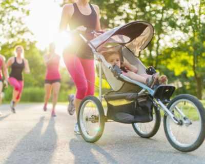 Годишно майките изминават 1000 км с бебешката количка
