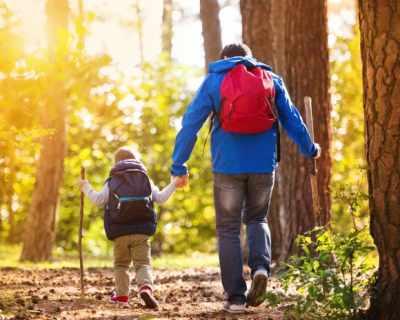 На поход с татко... или кратко описание на това, което се случва, когато мама я няма:)
