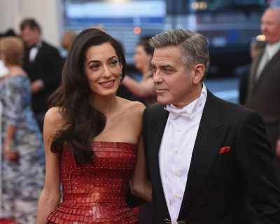 Джордж и Амал Клуни очакват близнаците да се родят ...