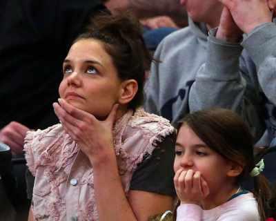 Кейти Холмс показа, че Сури Круз е нейно малко копие