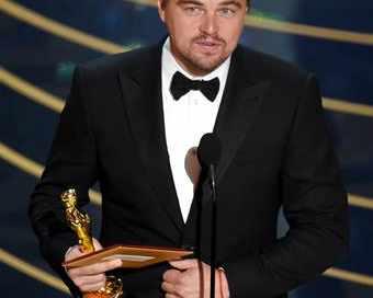Най-накрая! Леонардо Ди Каприо взе първия си Оскар