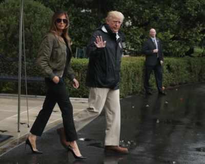 Кой носи високи обувки по време на наводнение? ...