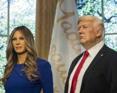 Восъчната първа двойка на САЩ влезе при Мадам Тюсо