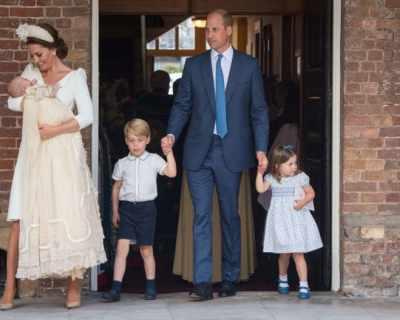 Цялото кралско семейство на Великобритания бе на ...