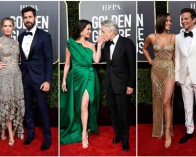 Стилни двойки на червения килим на Златен глобус 2019